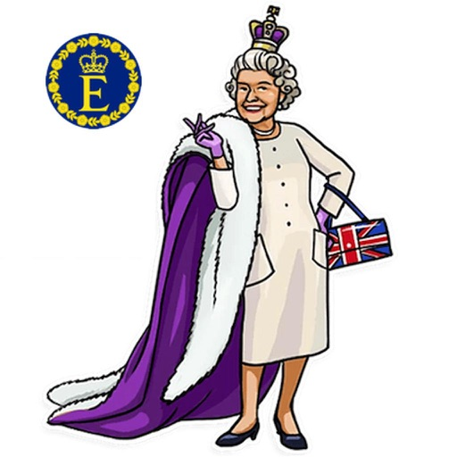 Our Queen Elizabeth II Sticker
