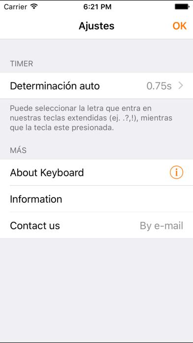 Easy Mailer Spanish Keyboardのおすすめ画像5
