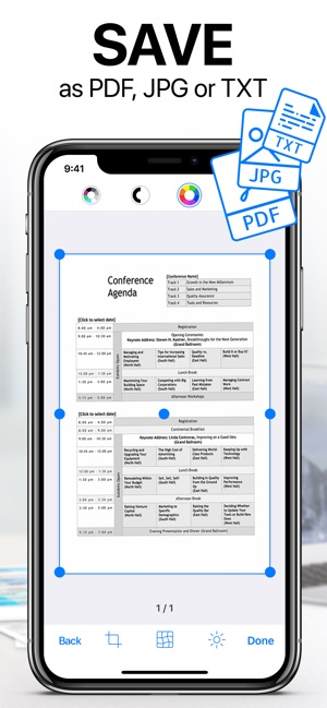 ‎iScanner: PDF Document Scanner