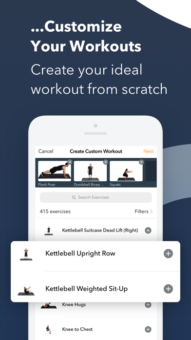 Sworkit Fitness & Workout App Screenshot
