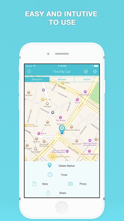Find My Car - Parking Tracker screenshot-1