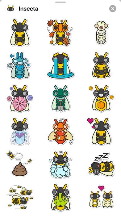 Insecta Stickers screenshot 2