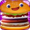 バーガーファーストフード料理ゲーム - iPadアプリ