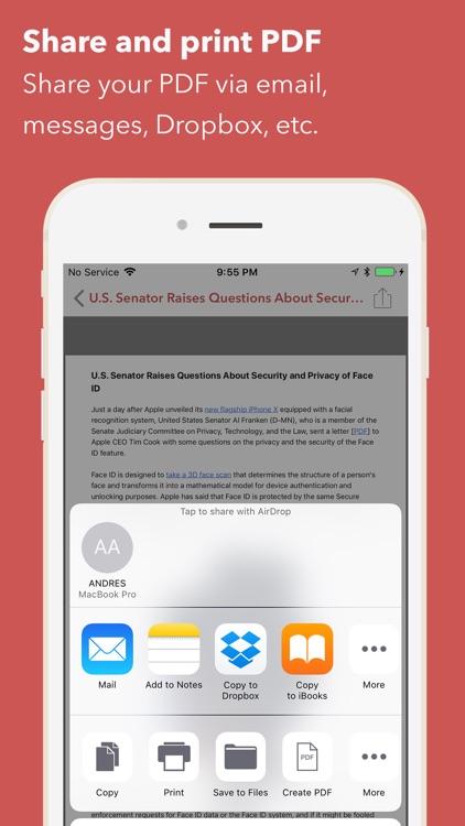 Web to PDF Converter & Reader screenshot-4