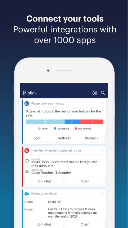 Blink - The Employee App screenshot-3
