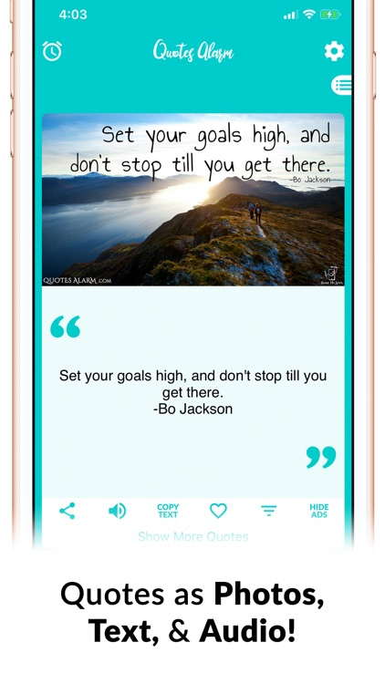 Quotes Alarm -Quote of the Day