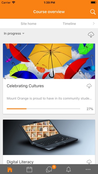 Screenshot for Moodle in Germany App Store