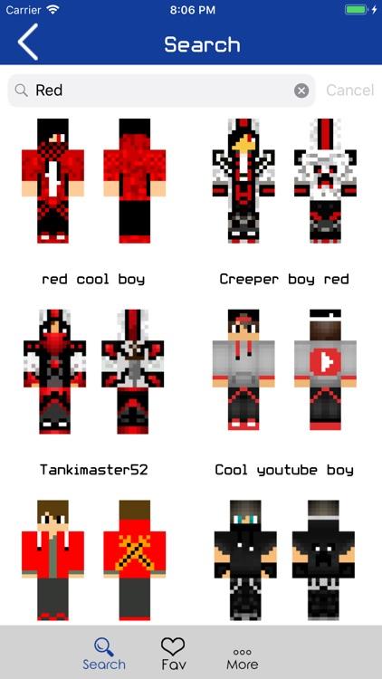 Boy Skins for Minecraft PE !