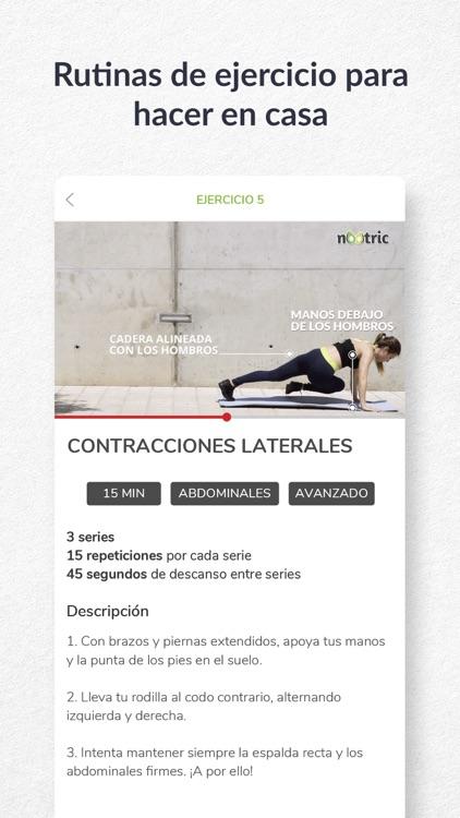 nootric - nutrición y dietas screenshot-5