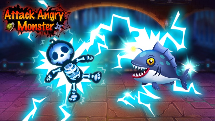 Attack Angry Monster