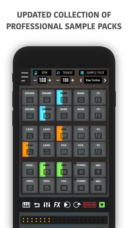 Mixpads-Drum Pads DJ Mixer PRO screenshot-4