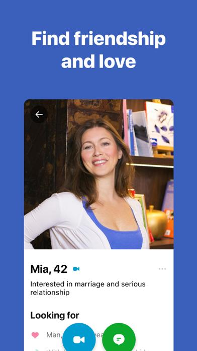 DateMyAge™ - Mature Dating 40+ Screenshot