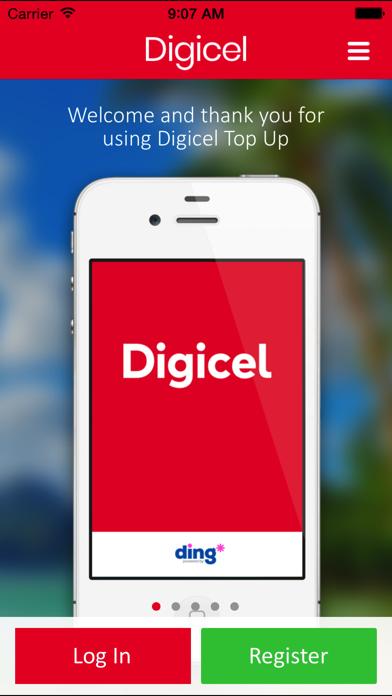 Digicel Top Up screenshot one