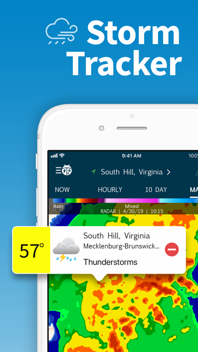WeatherBug – Weather Forecast Screenshot