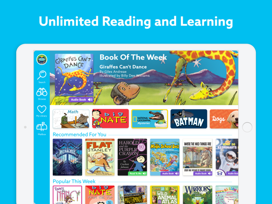 iPad Image of Epic - Kids' Books and Videos