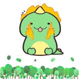 胖绿龙-Dargon Sticker