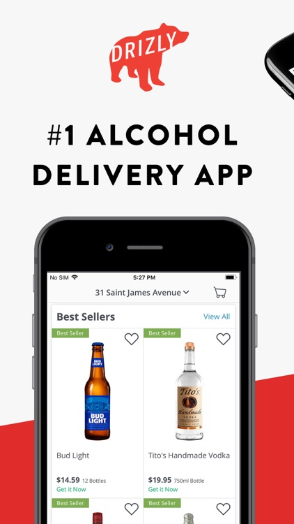 Drizly: Alcohol Delivery screenshot-0