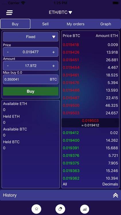 MoonX Crypto Trading Platform screenshot-3