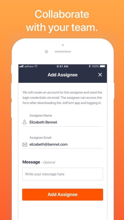 JotForm Mobile Forms & Surveys screenshot-6