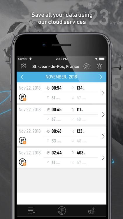 SkiPal - Accurate Ski Tracks screenshot-3