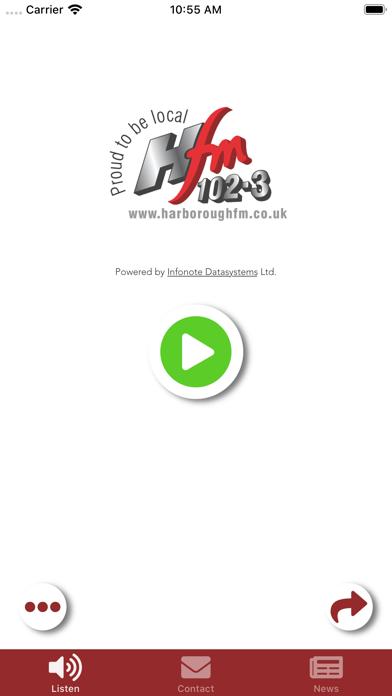 Harborough FM screenshot one