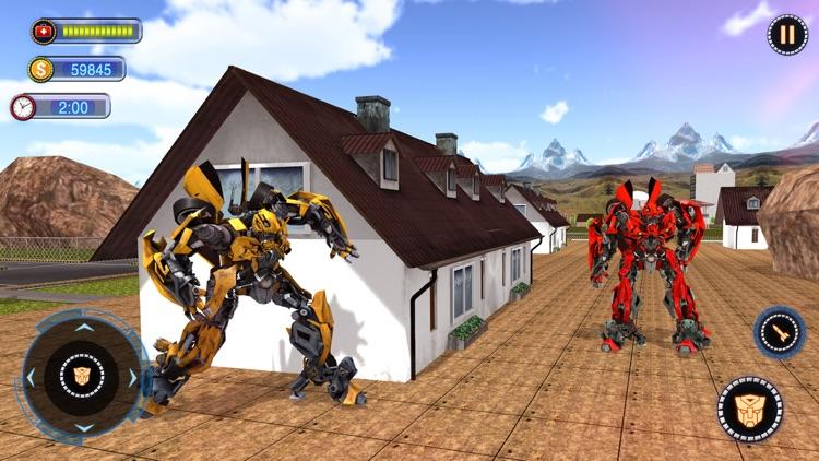 Fighting Robot Car Chase 2020 screenshot-4