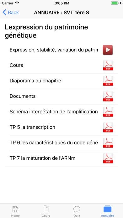 SVT Première S screenshot 7