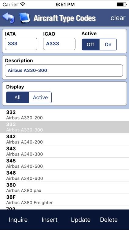 EASA Flight Log