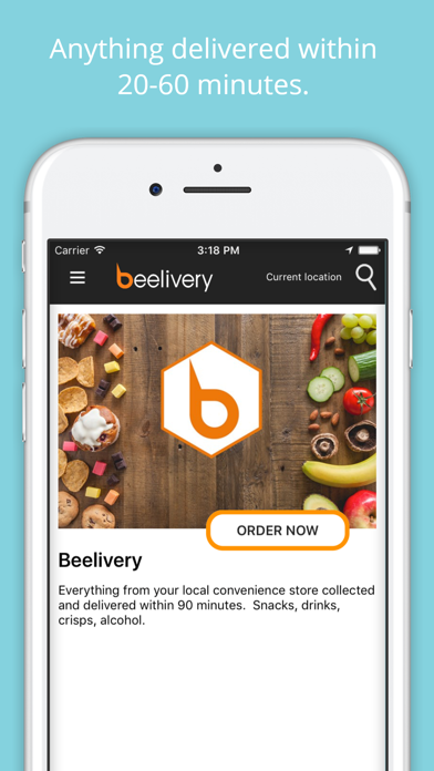 Beelivery: Grocery Delivery screenshot one