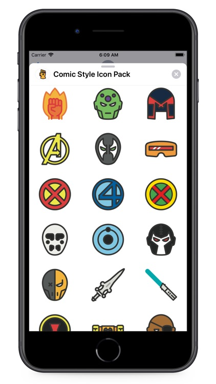Comic Style Icon Pack