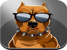 Pit Bull Dogs Emoji Stickers