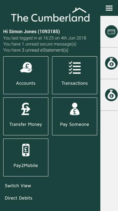 Cumberland Mobile Banking screenshot one