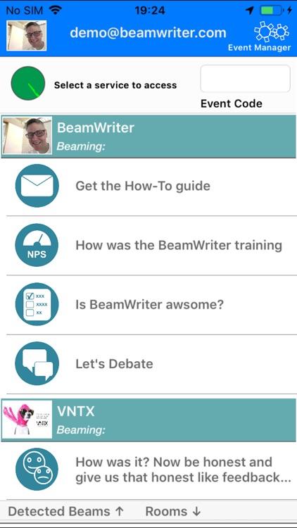 BeamWriter