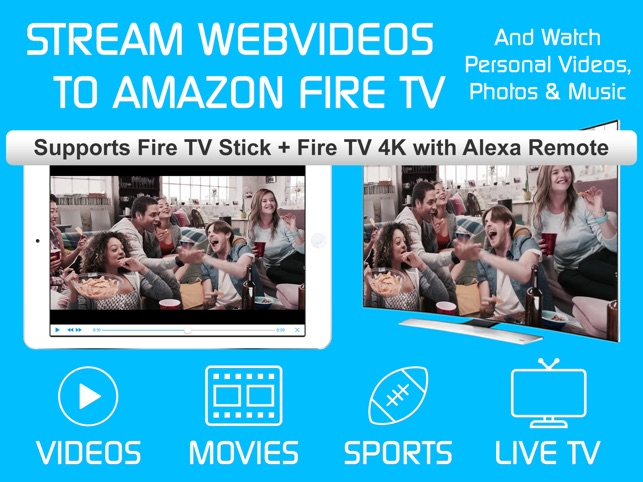 Video & TV Cast | Fire TV App on the App Store