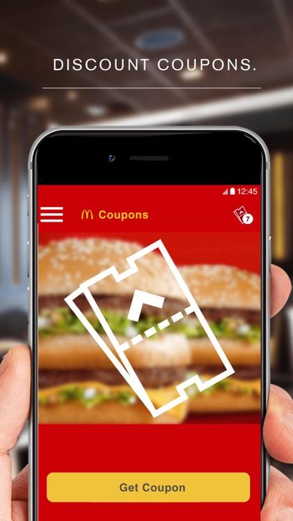 McDonald's App screenshot-4