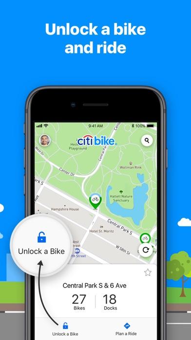 Screenshot for Citi Bike in United States App Store