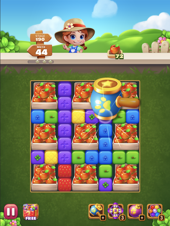 Sweet Garden Blast screenshot 9