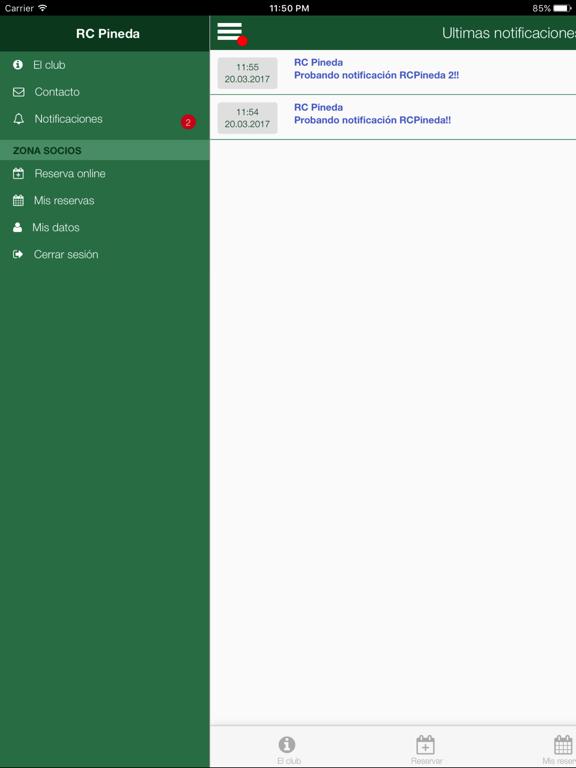 RCPineda Reserva screenshot 10