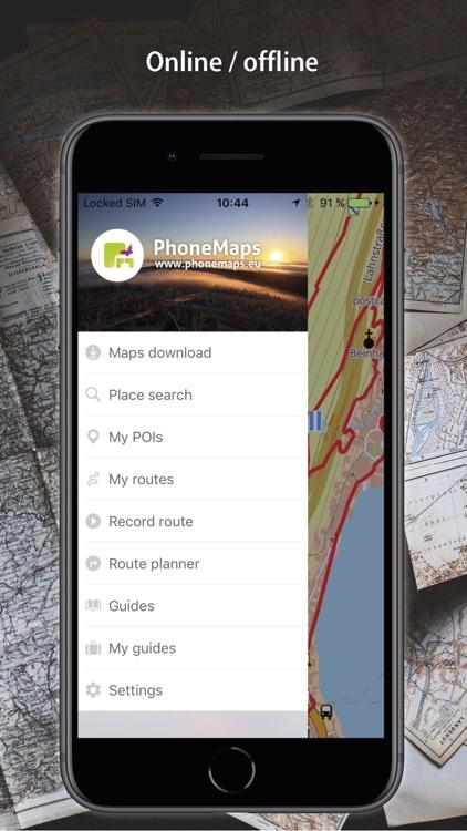 PhoneMaps screenshot-4