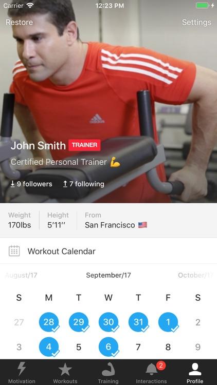 MyTraining Workout Tracker Log screenshot-4