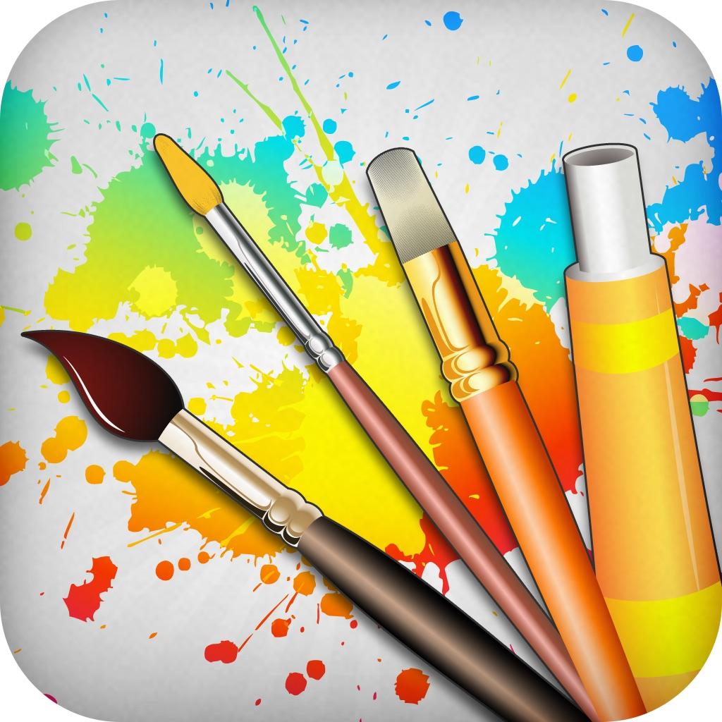 Drawing Desk: Draw & Paint Art
