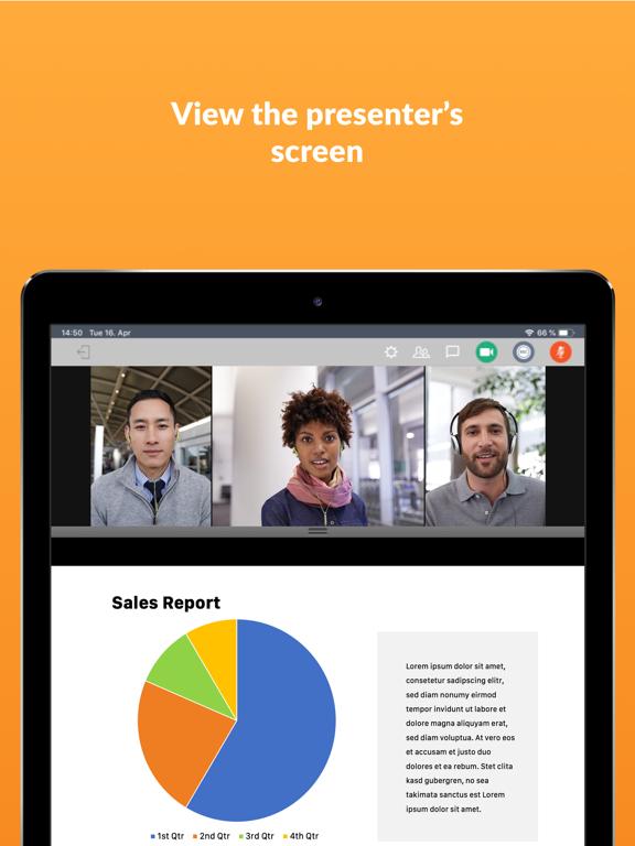 iPad Image of GoToMeeting