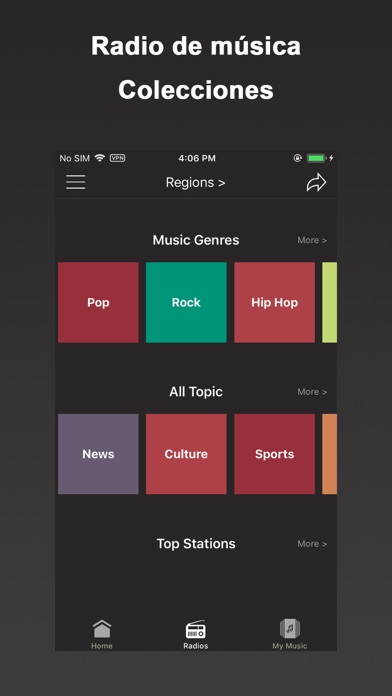 Screenshot for Young Radio+ Music in Chile App Store