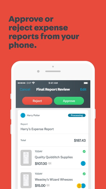 Expensify: Receipts & Expenses screenshot-5