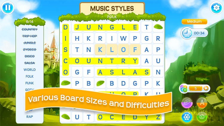 ReWordz: Word Search Puzzles screenshot-4
