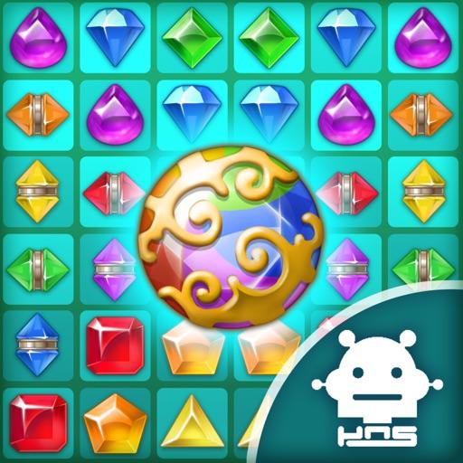 Paradise Jewel: Match-3 Puzzle