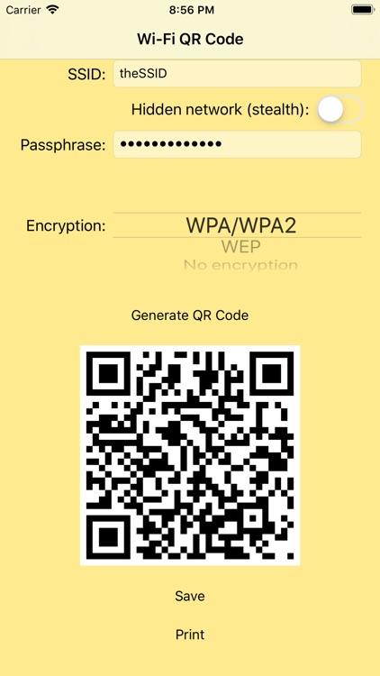 Wi-Fi QR Code screenshot-4