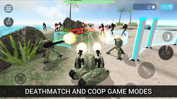 CyberSphere: Sci-Fi Shooter screenshot-3