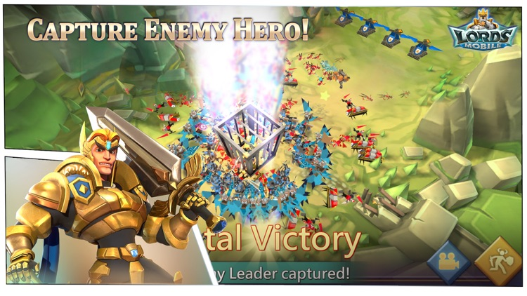 Lords Mobile: Kingdom Wars screenshot-3