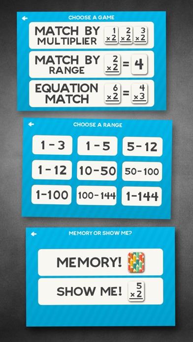 Multiplication Math Flashcards for windows pc